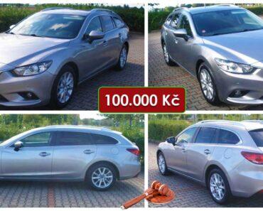 Zisková Dražba Mazda 6 Combi Skyactiv – vydraženo jen za: 202.000 Kč