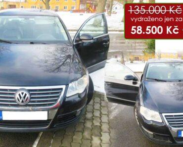Zisková Dražba Volkswagen Passat 3C – vydraženo jen za: 58.500 Kč