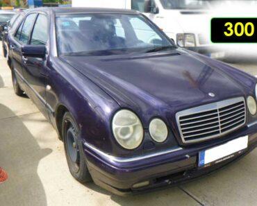 5.10.2021 Dražba automobilu Mercedes E 280. Vyvolávací cena 300 Kč, ➡️ ID829636