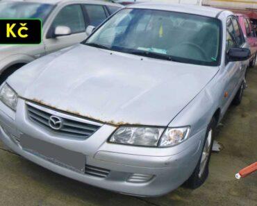 12.10.2021 Dražba automobilu Mazda 626. Vyvolávací cena 300 Kč, ➡️ ID826704