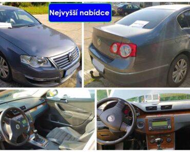 Do 10.10.2021 Výběrové řízení na prodej automobilu Volkswagen Passat. Min. kupní cena - prodej nejvyšší nabídce Kč, ➡️ ID825675
