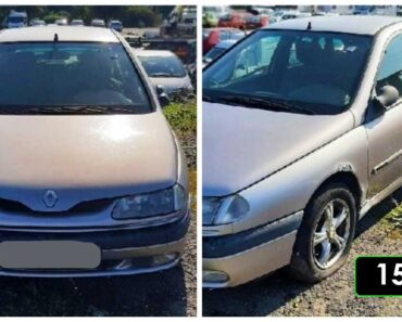 2.10.2021 Dražba automobilu Renault Laguna. Vyvolávací cena 150 Kč, ➡️ ID827436