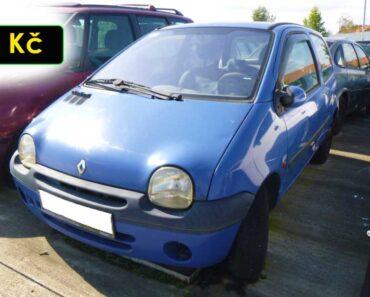 5.10.2021 Dražba automobilu Renault Twingo. Vyvolávací cena 300 Kč, ➡️ ID829307