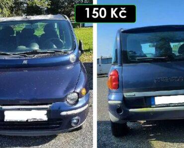 2.10.2021 Dražba automobilu Fiat Multipla. Vyvolávací cena 150 Kč, ➡️ ID827424
