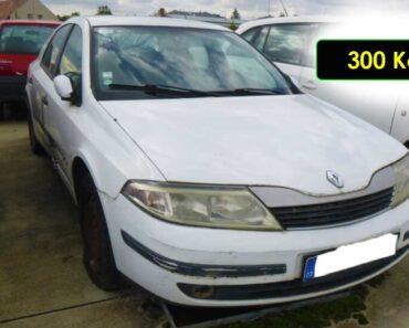 5.10.2021 Dražba automobilu Renault Laguna 1.9 D. Vyvolávací cena 300 Kč, ➡️ ID829314