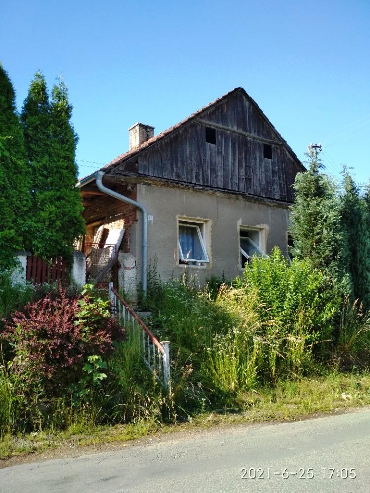 26.10.2021 Aukce nemovitosti (Rodinný dům k rekonstrukci s pozemkem). Vyvolávací cena 200.000 Kč, ➡️ ID829931