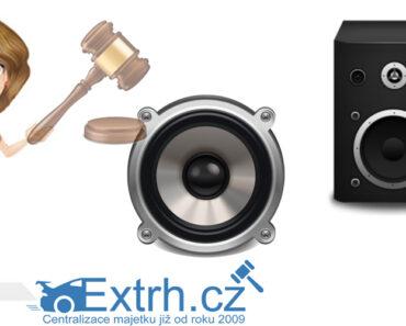 11.11.2021 Dražba elektroniky (Repro QTX Sound). Vyvolávací cena 600 Kč, ID831130