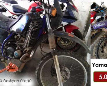 Do 31.10.2021 bude probíhat aukce motocyklu Yamaha DT, vyvol. cena 5.000 Kč ➡️