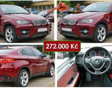 25.10.2021 Aukce automobilu BMW X6 3.0 D xDrive. Vyvolávací cena 272.000 Kč, ➡️ ID833795