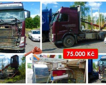 29.10.2021 Dražba nákladního automobilu Volvo FH s nástavbou. Vyvolávací cena 75.000 Kč, ➡️ ID830889
