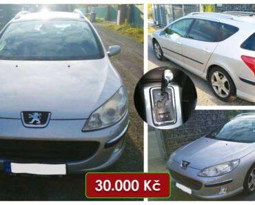 Do 19.12.2021 Výběrové řízení na prodej automobilu Peugeot 407 SW. Min. kupní cena 30.000 Kč, ➡️ ID834519