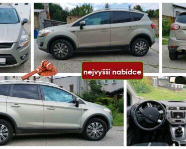 Do 31.10.2021 Výběrové řízení na prodej automobilu Ford Kuga. Min. kupní cena - prodej nejvyšší nabídce Kč, ➡️ ID833722