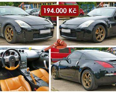 Do 25.10.2021 Aukce automobilu Nissan 350Z kupé. Vyvolávací cena 194.000 Kč, ➡️ ID834214