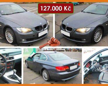 25.10.2021 Aukce automobilu BMW 325xi. Vyvolávací cena 127.000 Kč, ➡️ ID834410