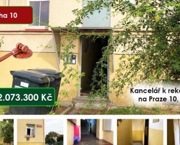 Výběrové řízení na prodej (Kancelář k rekonstrukci na Praze 10 - 2.073.300 Kč). Kč, ➡️ ID834664