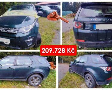 Do 3.11.2021 Výběrové řízení na prodej automobilu Land Rover Discovery Sport 2.0. Min. kupní cena 209.728 Kč, ➡️ ID832328