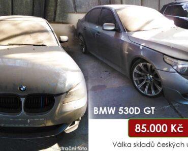 Do 31.10.2021 bude probíhat aukce automobilu BMW 530D GT , vyvol. cena 85.000 Kč ➡️
