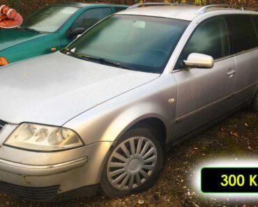 22.11.2021 Dražba automobilu VW Passat. Vyvolávací cena 300 Kč, ➡️ ID834794