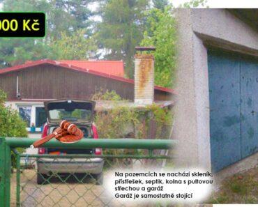 30.11.2021 Dražba nemovitosti (Chata s pozemkem). Vyvolávací cena 920.000 Kč, ➡️ ID834586