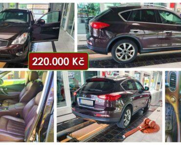 Do 15.11.2021 Výběrové řízení na prodej automobilu Nissan Infinity, 4x4. Min. kupní cena 220.000 Kč, ➡️ ID833766