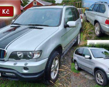 22.11.2021 Dražba automobilu BMW X5. Vyvolávací cena 11.067 Kč, ➡️ ID833286