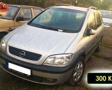 22.11.2021 Dražba automobilu Opel Zafira. Vyvolávací cena 300 Kč, ➡️ ID834786