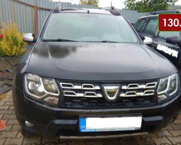 Do 25.10.2021 Výběrové řízení na prodej automobilu Dacia Duster 1.5 dCi 4x4 Arctica. Min. kupní cena 130.950 Kč, ➡️ ID833206