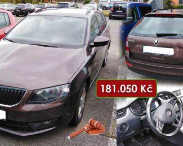 Do 25.10.2021 Výběrové řízení na prodej automobilu Škoda Octavia Combi. Min. kupní cena 181.050 Kč, ➡️ ID833269