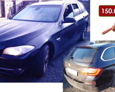23.11.2021 Dražba automobilu BMW 530d xDrive. Vyvolávací cena 150.000 Kč, ➡️ ID833247